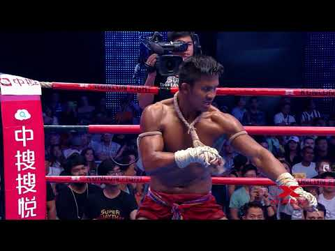 Buakaw Banchamek 1VS3 Coolest Muay Boran Performance