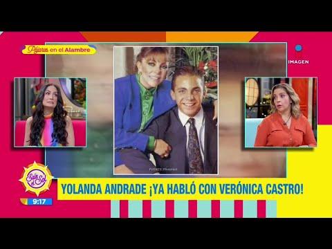 ¿Yolanda Andrade y Verónica castro hicieron las paces? | Sale el Sol