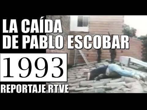 1993 LA CAÍDA DE PABLO ESCOBAR - REPORTAJE RTVE