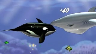 Let's play Feeding Frenzy   Part 5 Orville the Black Whale
