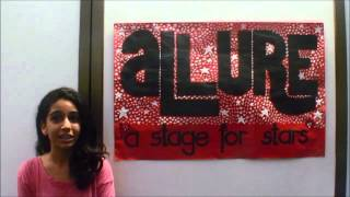 TeacherNI Presents ALLURE - A STAGE FOR THE STARS - ZOISH IRANI