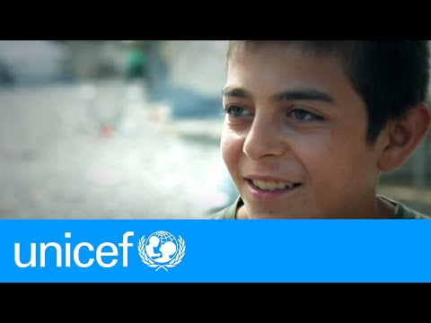 Refugee teen in Greece dreams of returning to Syria | UNICEF