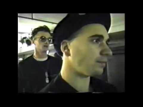 Nitzer Ebb - Soundcheck At Technoclub Frankfurt 1989