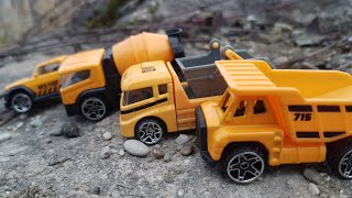 Trucks for Kids Unboxing play and Review