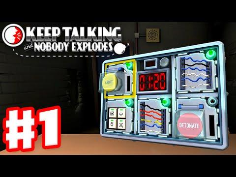 Keep Talking and Nobody Explodes - Gameplay Walkthrough Part 1 w/ JessPlays and JustinBobcat!