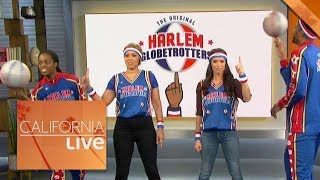 Learning Tricks From The Harlem Globetrotters | California Live | NBCLA