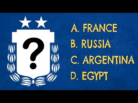 Which WORLD CUP Team Logo is This?(Part 1) | Football Quiz