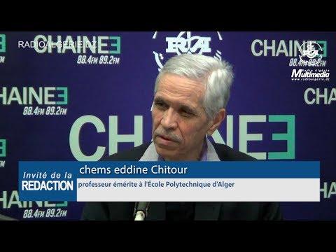 Chems Eddine Chitour professeur émérite à l'École Polytechnique d'Alger