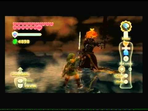 The Legend of Zelda Skyward Sword: Demon King Demise Final Boss