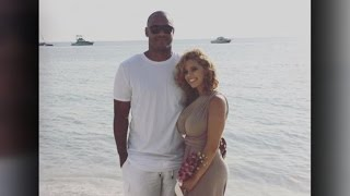 NFL player's wife, suspected shooter tell different stories
