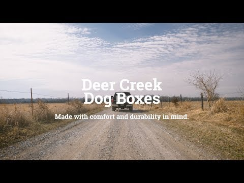 Deer Creek Dog Boxes