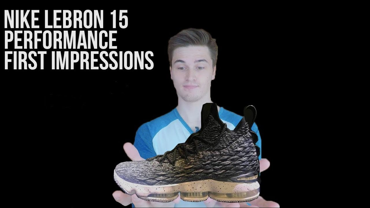 72349a85c9f NEW NIKE LEBRON 15 (GAME OF THRONES) PERFORMANCE FIRST IMPRESSIONS ...