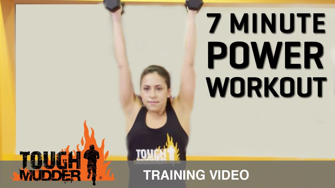 7 minute workout full body circuit training ep 11 tough mudder youtube. Black Bedroom Furniture Sets. Home Design Ideas