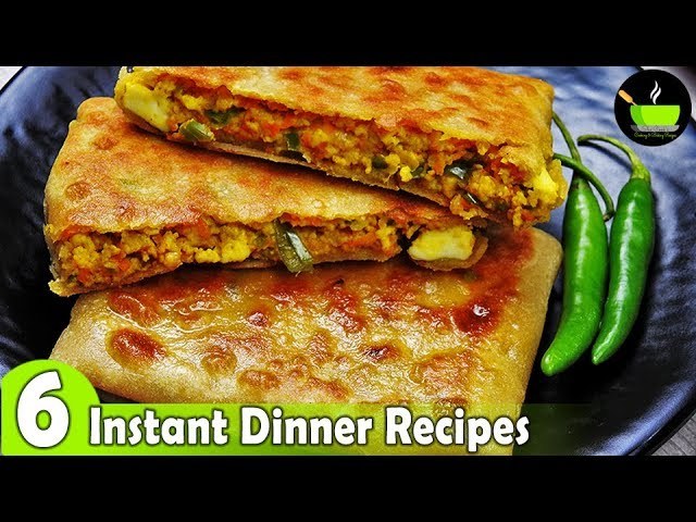 6 Lockdown Recipes 6 Easy Dinner Recipes Indian Dinner