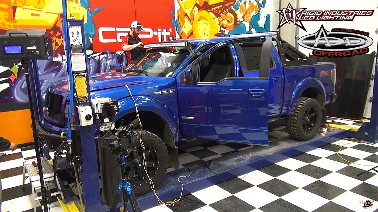 Rc adventures make a full scale 4x4 truck look like an rc 2013 ford f 150 3 4 youtube