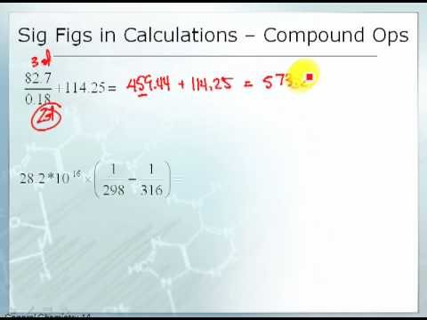 Significant Figures in Combined Operations