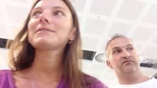 Возврат домой на самолете из Солнечного Берега (Болгария) Часть 1