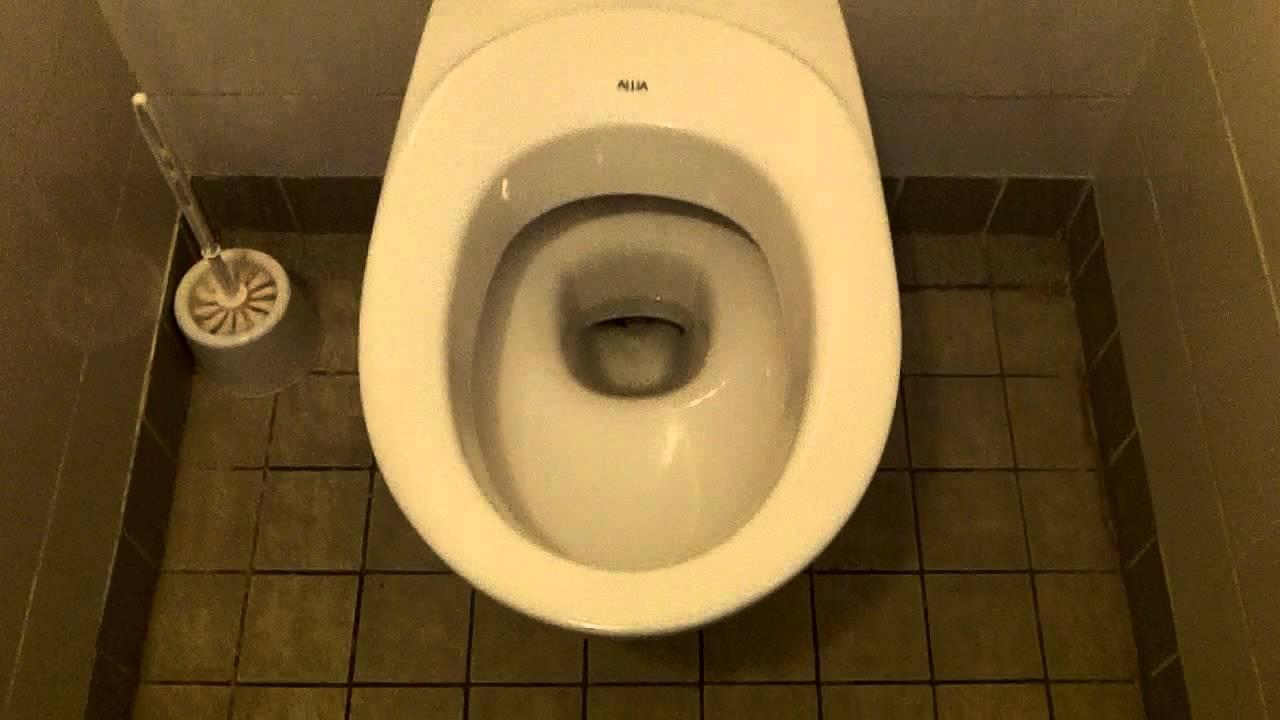 Seatless Bowl Design ALLIA Toilet with CLARA Flush Button - YouTube