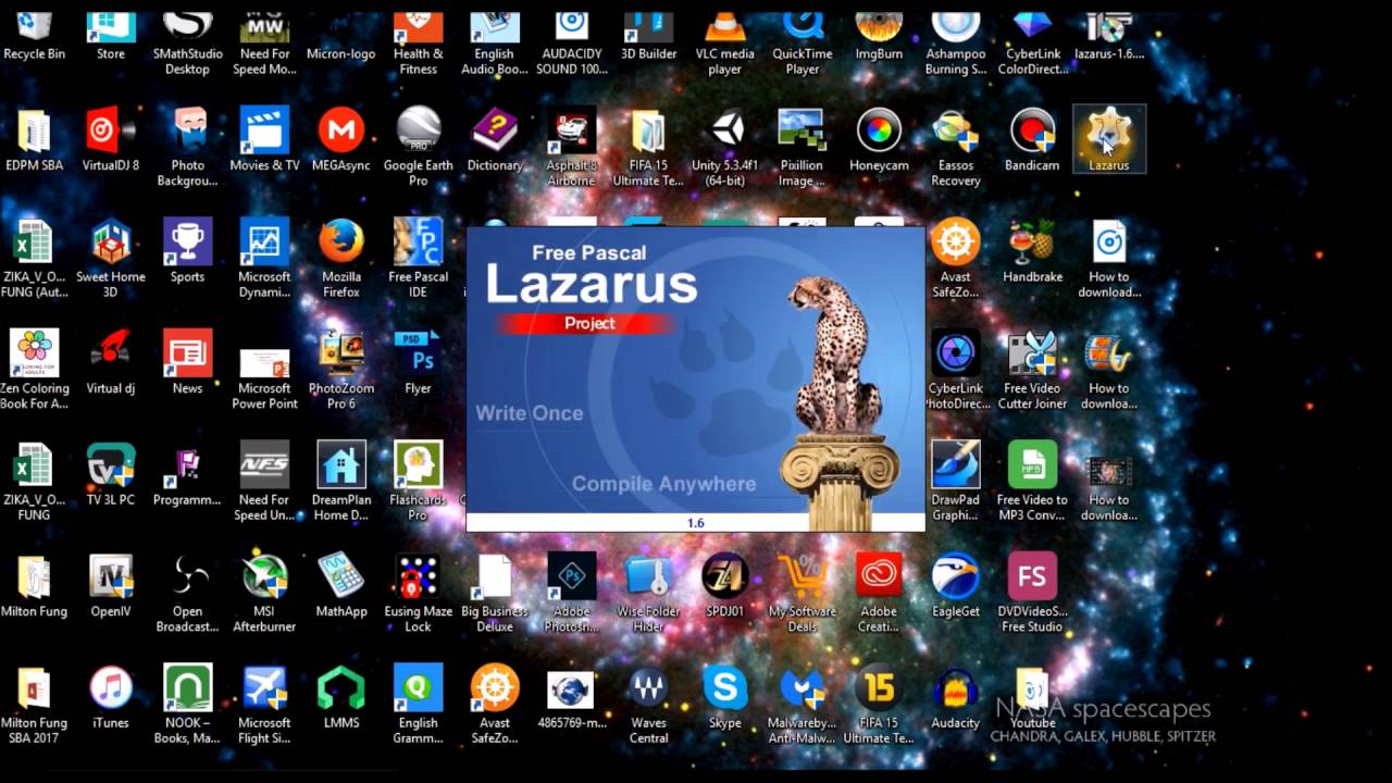 How to download Lazarus On windows 10