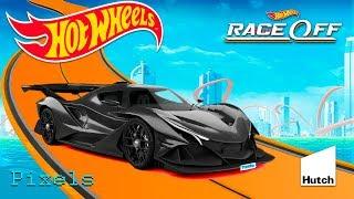Hot Wheels Race Off - New Super Cars