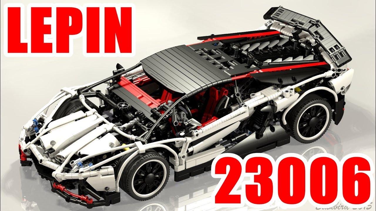 Lepin 23006 Lamborghini Aventador Lp 720 4 Youtube