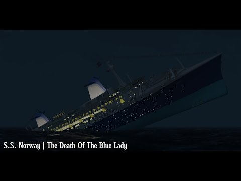 S.S. Norway | The Death Of The Blue Lady