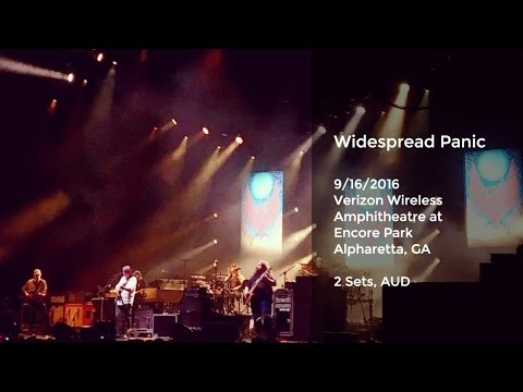 Widespread Panic Live at Verizon Wireless Amphitheatre, Alpharetta, GA - 9/16/2016 Full Show AUD