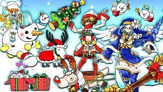 【小熙解说】喵星人大战 白金卡圣诞活动抽到圣诞版限定悟空和沙悟静!猫咪大战争