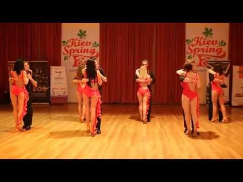 Mambo Dance Class Kizomba-Kiev Spring Salsa Kizomba & Bachata Fest April 2014