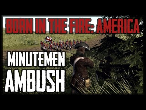 MINUTEMEN AMBUSH - American Revolution (BITFA) Mod - Men of War: Assault Squad 2