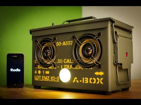 Ammo Can Box Speakers DIY - Part 1