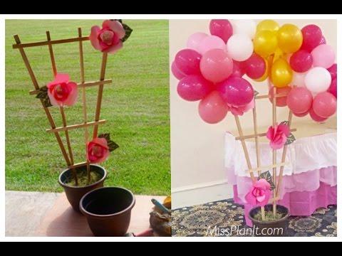 DIY: Tutorial Secret Garden Balloon Arch!