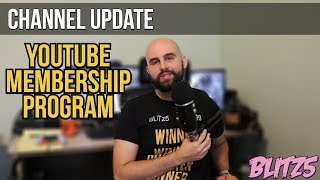 Channel Update: Membership Program & Shout outs!