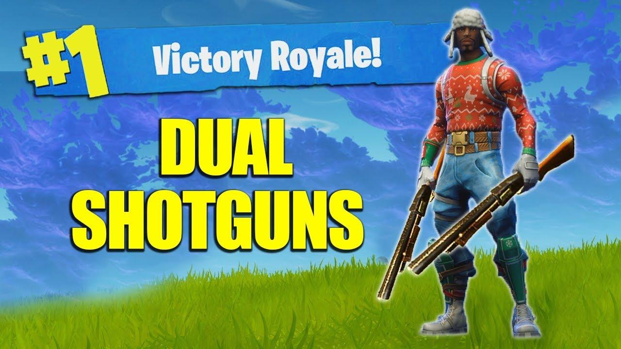 The Double Pump Shotgun Trick Glitch Tutorial Fortnite