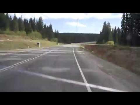 Участок дороги Арти - Екатеринбург.