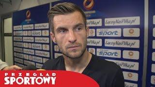 Superpuchar 2016. Łukasz Broź po meczu Legia - Lech 1:4