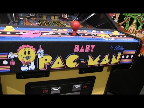 Rare Video Arcade Games from the 1980