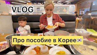 🇰🇷🇰🇿Мама в Корее/Пособие от государства/Ужин с подругами🤓