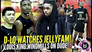 JellyFam Jahvon Quinerly Shows Out for D