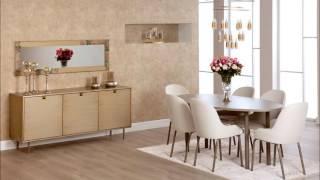 Aldora mobilya yemek odası modelleri