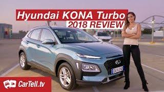 2018 Hyundai Kona Turbo Review | CarTell.tv