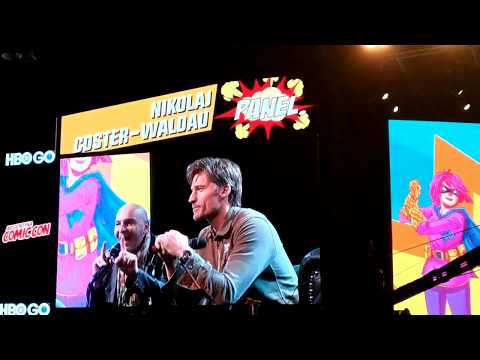 GoT Jaime Lannister | Nikolaj Coster-Waldau - Argentina Comicon (27-05-2017)