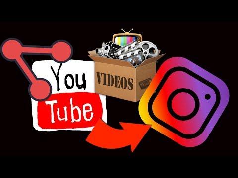 Condivisione Video YouTube su Instagram