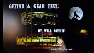 Will Sophie checking out Smitty alnico 5/2 strat bridge pickup  (part 2)
