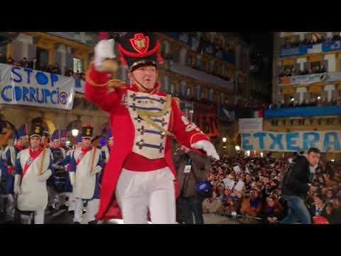 TAMBORRADA 2018: IZADA DE LA BANDERA
