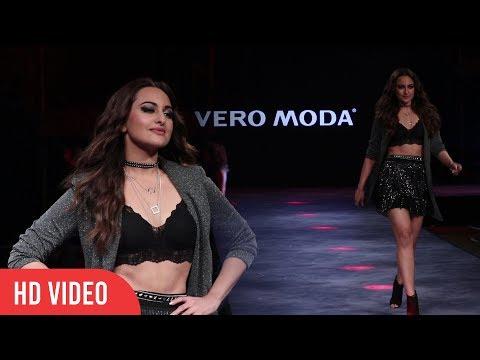 Sonakshi Sinha Ramp Walk For VERO MODA | High Street Fashion Show