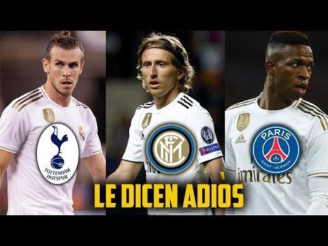 ZIDANE NO LOS QUIERE! 7 Cracks que se van del Real Madrid para el prximo MERCADO DE FICHAJES 2020