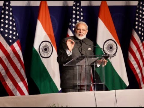 PM Modi addresses Indian diaspora at community reception in Washington D.C.