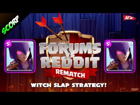 Best TH9 Attack Strategy 3 Star Attacks | WITCH SLAP | Reddit vs Forums Rematch Replays 2017
