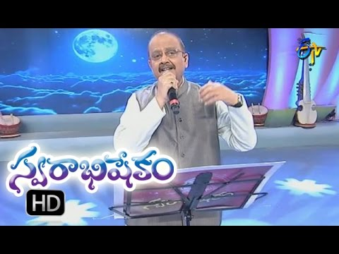 Kaluvaku Chandrudu Song  SP Balu Performance  Swarabhishekam  25th September 2016  ETV Telugu